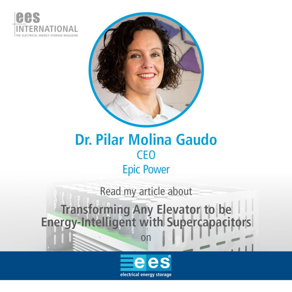 New article for EES International Newsletter