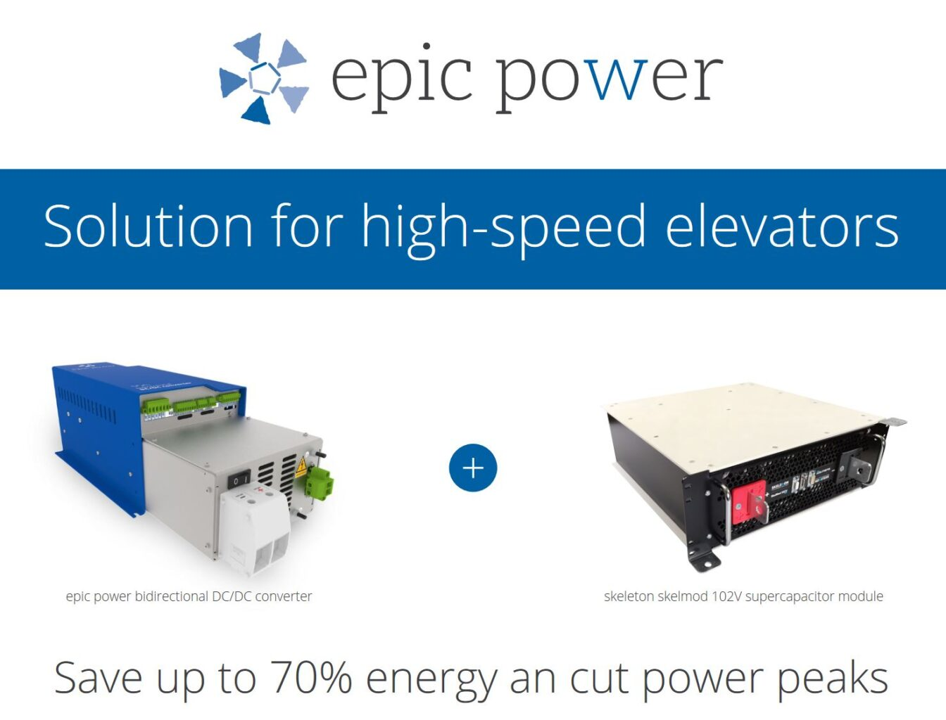 Solution for high-speed elevators